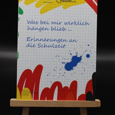 Viele, die auf dieses Sponsorenbuch schauen, erinnern sich mit dem Tintenfleck und der Schrift an ihre eigene Schulzeit.