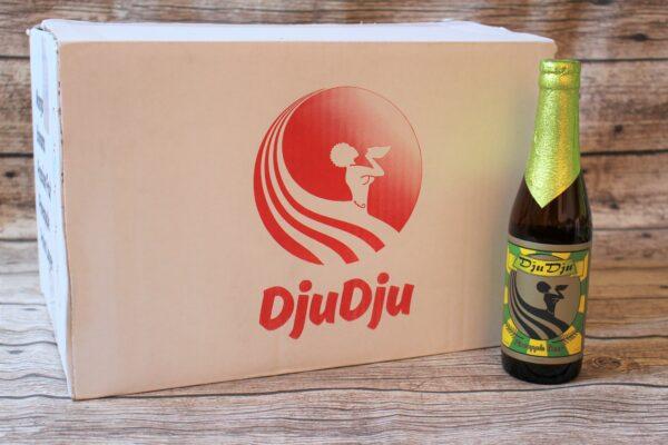 Wir freuen uns, Ihnen das original ghanaische DjuDju Bier Ananas anbieten zu können!