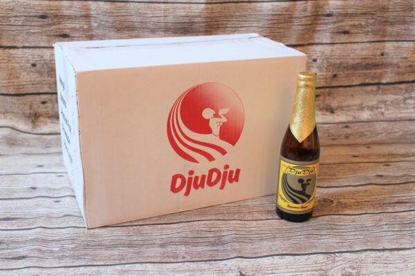 Wir freuen uns, Ihnen das original ghanaische DjuDju Bier Banane anbieten zu können!