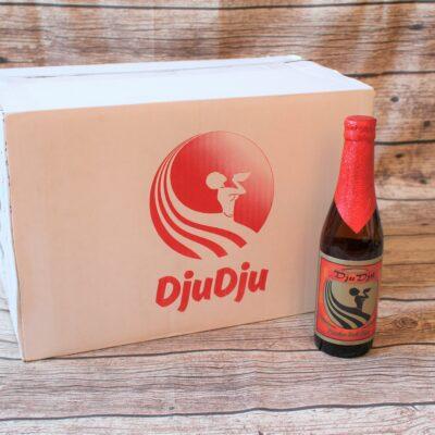 Wir freuen uns, Ihnen das original ghanaische DjuDju Bier Maracuja anbieten zu können! Auch Maracuja ist mit seinem exotischen Geschmack ein sehr beliebtes Fruchtbier.