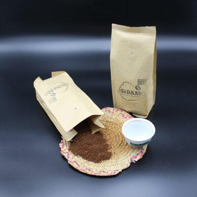 Biologisch, fair und eine Kooperation mit Samocca in Aalen!! Genießen Sie diesen äthiopischen Kaffee!