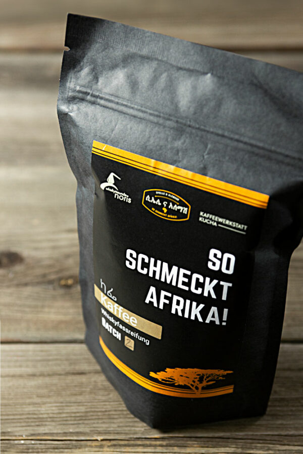 Dieser außergewöhnliche Kaffee mit Whiskyfassreifung entstand in Kooperation mit den Whiskyfreunden Noris und der Kaffeewerkstatt Kucha.