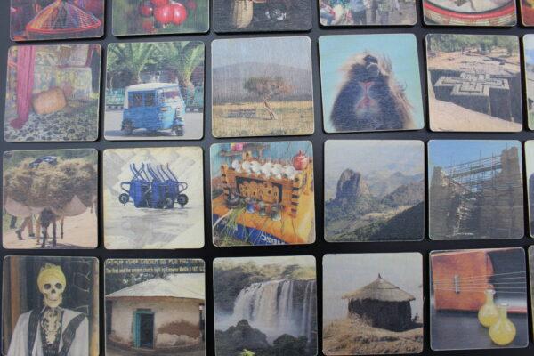 Die Spielkarten dieses Memo werden aus FSC-zertifiziertem Holz in Deutschland produziert - MADE IN GERMANY.