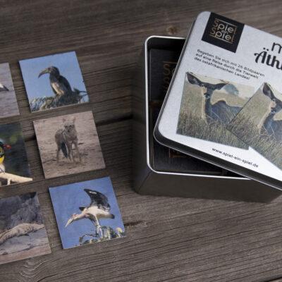 Sie mögen Tiere? Wir auch – darum bieten wir einige von Ihnen in unserem Memo-Spiel Äthiopien Tiere an.