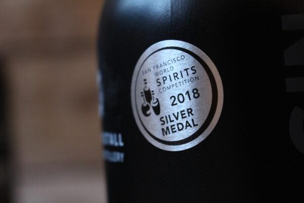 Dieser Gin gewann 2018 bei WORLD SPIRITS COMPETITION in San Francisco die Silbermedaille