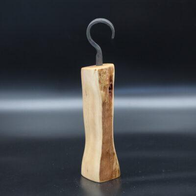 """Dieser Pfeffermühle entstand durch Jonas Langer und seine """"Praktische Holzkunst"""" aus Gemünden am Main"""