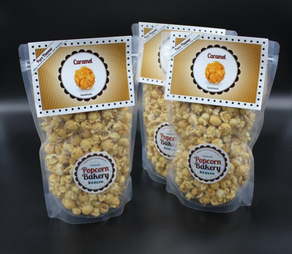 Leckeres Caramel-Popcorn; eine Special-Edition. Wenn weg, dann weg...