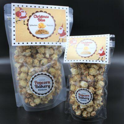 Sweet Chili ist Ihnen zu feurig? Sie lieben Weihnachten? Dann probieren Sie unser Popcorn mit Lebkuchengeschmack.