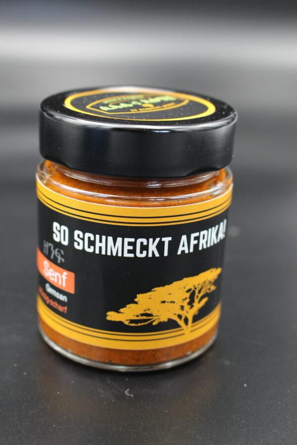 Die gleiche feurige Farbe, wie der original scharfe äthiopische – Der Gaumen schmeckt jedoch etwas anderes.