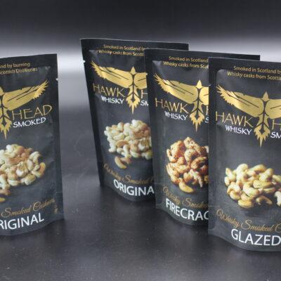 Sie sind ein Fan von Cashew-Nüssen?? Und von Whisky?? Dann haben wir hier ein leckeres Produkt: Whisky-Smoked-Cashews!!