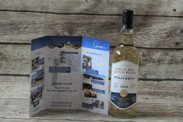 Das Projekt 001 ist ein Benefizprojekt zugunsten des Hawelti e.V. Von jeder Flasche gehen 10,00 Euro in die Projekte des Vereins.