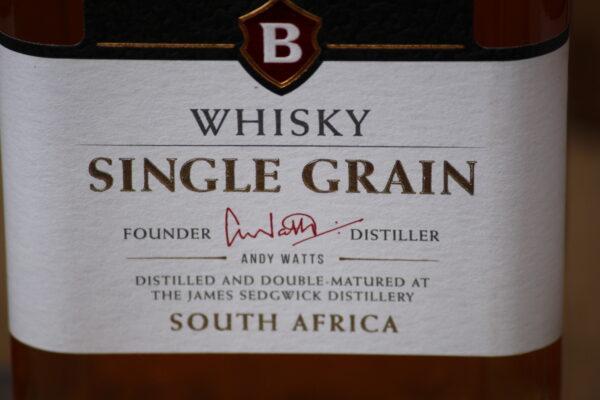 """Dieser leichte Whisky gewann 2018 den Preis als """"World`s best Grain Whisky 2018"""""""